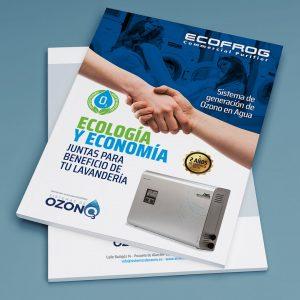 Diseño de folletos Sistemas de Ozono