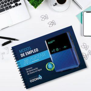 Diseño de Brochure Sistemas de Ozono