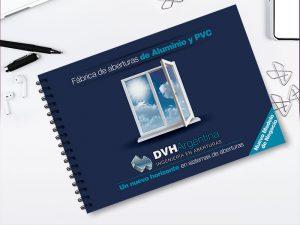 Diseño de brochure DVH