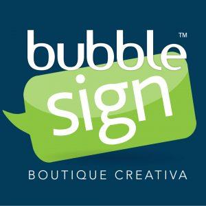 Logo Bubblesign | Boutique Creativa