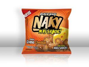 Diseño de packaging y branding Naky