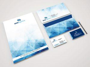 Diseño de imagen corporativa DVH