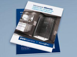 Diseño de folleto DVH