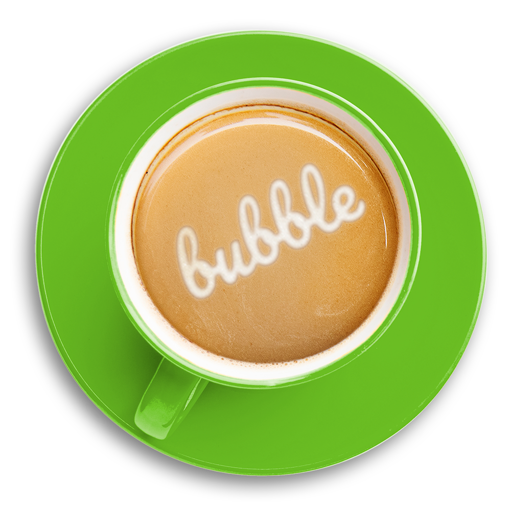 Taza Café Bubble