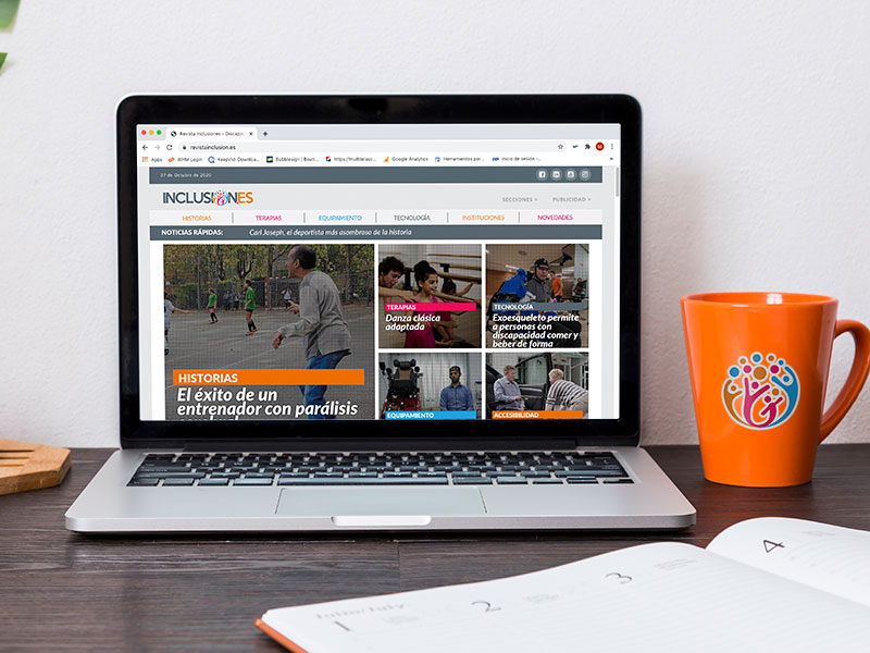 Diseño web Revista Inclusiones