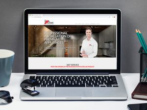 Diseño de página web Luxury Istallation