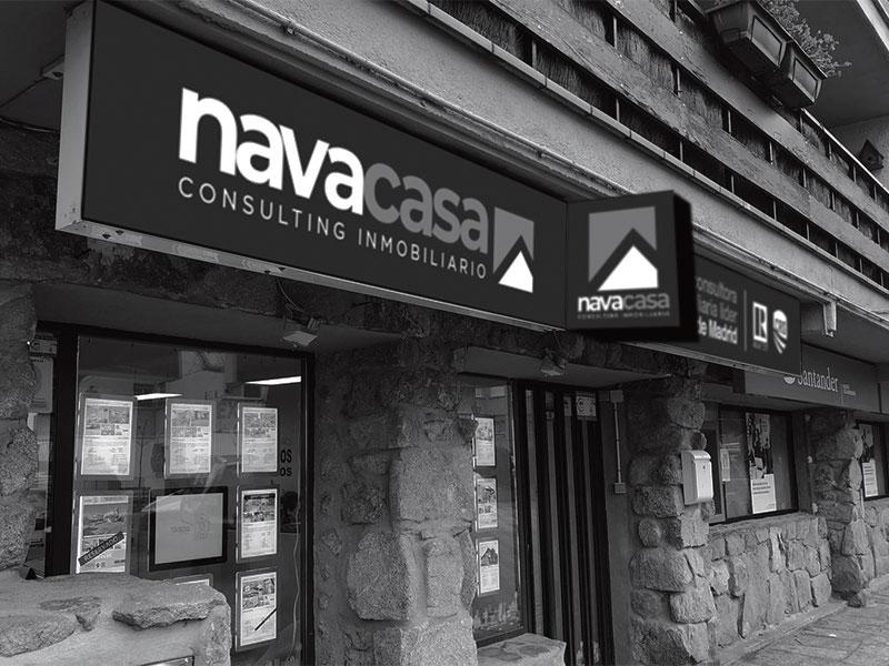 Rótulo Navacasa